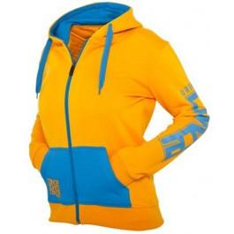 Urban Classics Dance Zip Hoody (Orange)-Large