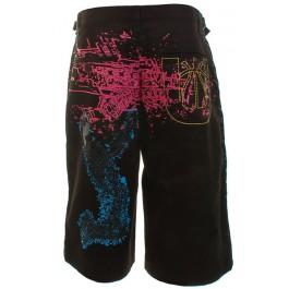 UNK NBA Cargo Shorts (Black)-40