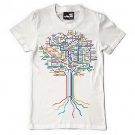 Technics Roots T-Shirts (White)-X-Large