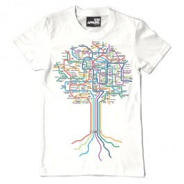Technics Roots T-Shirts (White)-Large