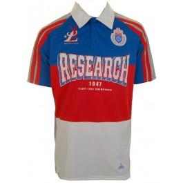 Snooker, Pool & Billiards LRG Combination Polo Shirt (Blue)-Large