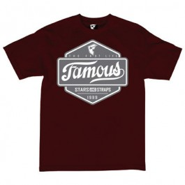 Famous Mens Top Choice T-Shirts (Burgundy) X-Large