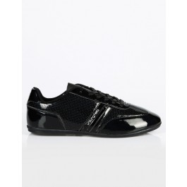 Unsung Hero Mens Lisbon Trainers (Black) UK_11