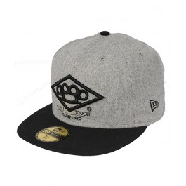 10 Deep Mens Caps Built Tough Heather Grey 7_1_2