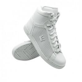DADA Prince II Hi Top Trainers (White)-UK 12 US13 EUR46