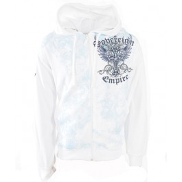 Raw Blue Sovereign Empire Hoody (White)-XX-Large