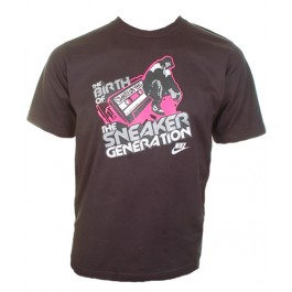 Men's Tops Nike The Sneaker Generation tee (Black)-Small