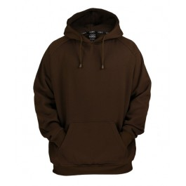 Urban Classics Basic Pullover Hoodies (Brown)-Small