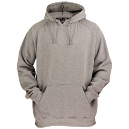 Urban Classics  Basic Pullover Hoodies (Grey)-Small