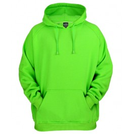 Urban Classics Basic Pullover Hoodies (Limegreen)-Small