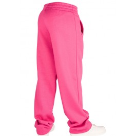 Urban Classics Plain Sweat Pants (Fuchsia)-Large