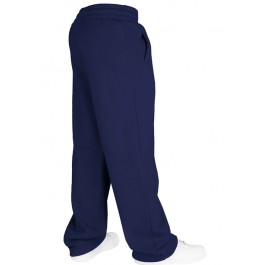 Urban Classics Plain Sweat Pants (Navy)-Large
