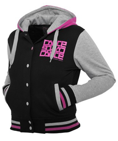 Urban Classics Womens UD011 College Dance Hoodie (Black)