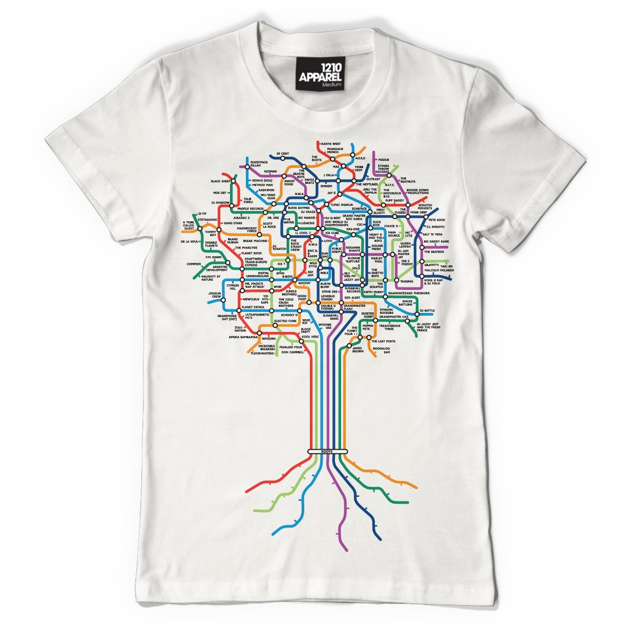 Technics Roots T-Shirts (White)