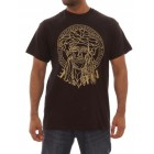 Rock-Run Mens Vers Face T-Shirts (Black)