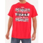 Miskeen Mens MGT60 Graphic T-Shirt (Red)
