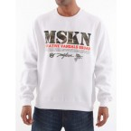 Miskeen Mens MCF43 Jumper (White)