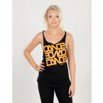Urban Dance Womens UD007 Dance Tanktop (Black)