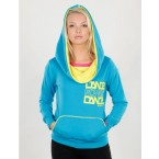 Urban Dance Womens UD010 Big Cap Fleece Hoody (Blue)