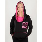 Urban Dance Womens UD010 Big Cap Fleece Hoody (Black)