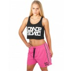 Urban Dance Womens UD054 Dance Mesh Shorts (Pink)