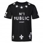 Original Trash Mens Sublimated Public Enemy T-Shirts (Black)